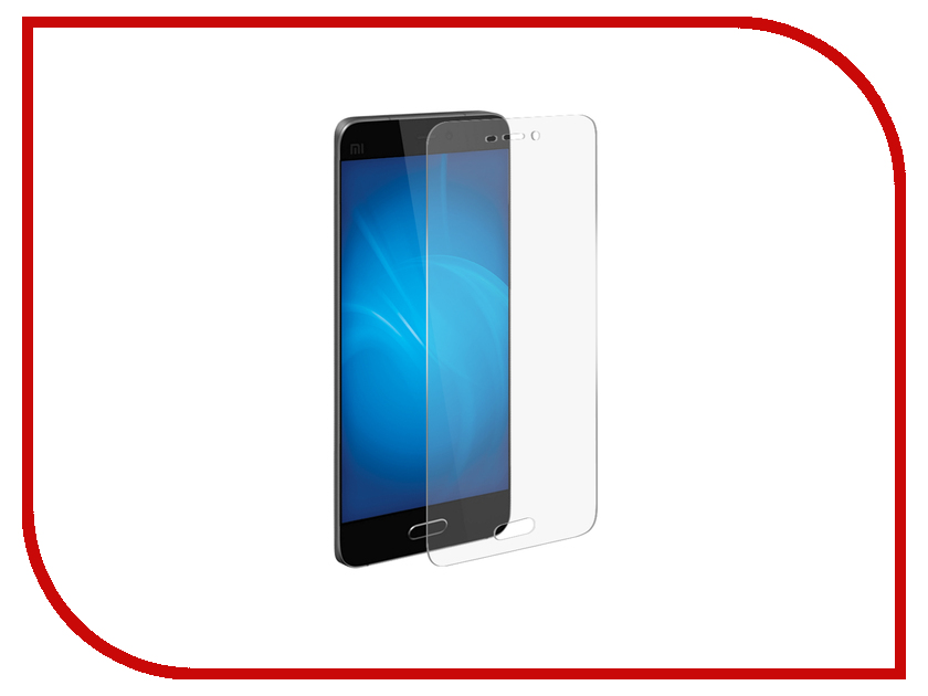 Аксессуар Защитная пленка Xiaomi Mi5S LuxCase прозрачная на весь экран 88404