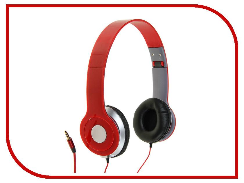 Наушники Luazon 859829 Red luazon lsk 1802 red