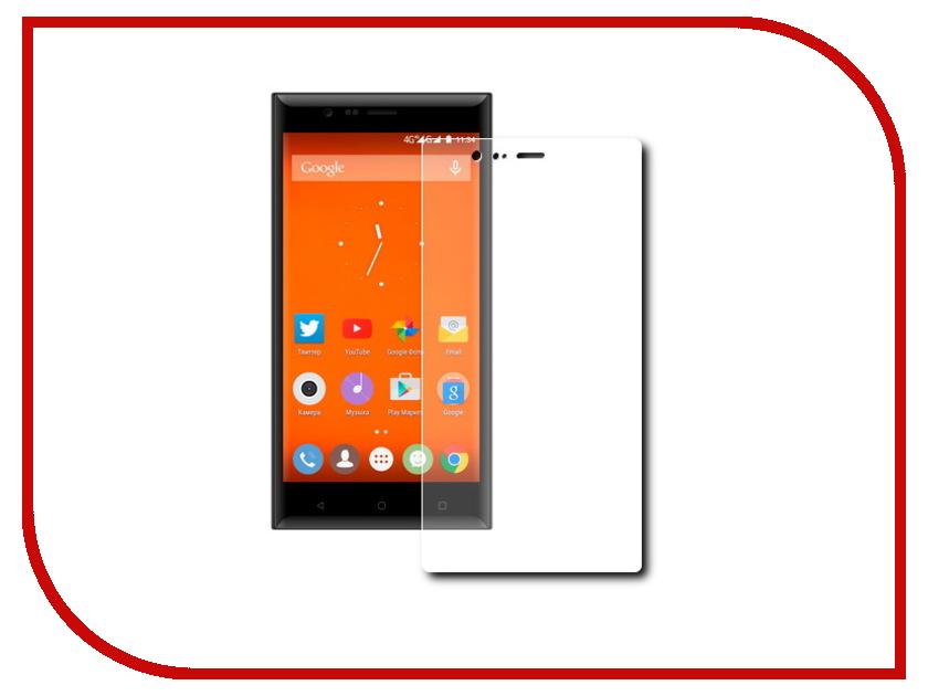Аксессуар Защитная пленка Highscreen Boost 3 SE LuxCase прозрачная на весь экран 88206<br>
