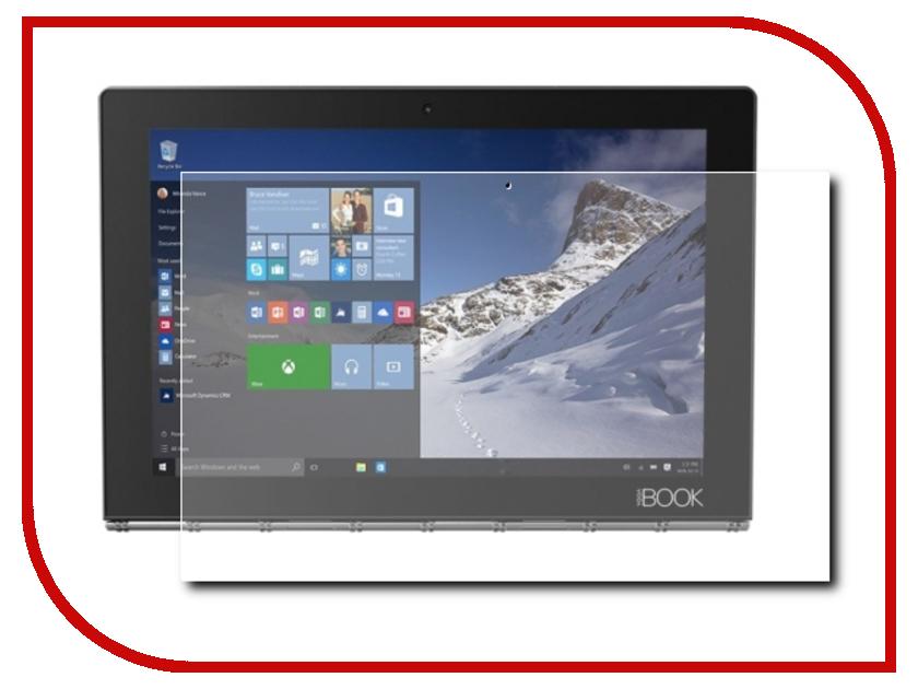Аксессуар Защитная пленка Lenovo Yoga Book YB1-X91L LuxCase суперпрозрачная 51153 ноутбук трансформер lenovo yoga book yb1 x91f