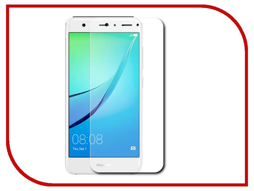 Аксессуар Защитная пленка Huawei Nova LuxCase прозрачная на весь экран 88652<br>