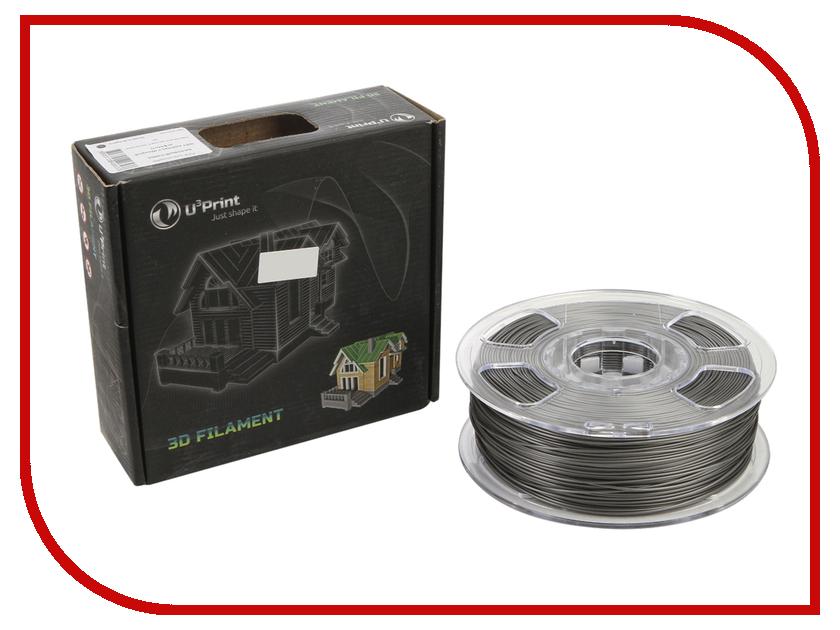 Аксессуар U3Print PLA-пластик 1.75mm 1kg Ash HP