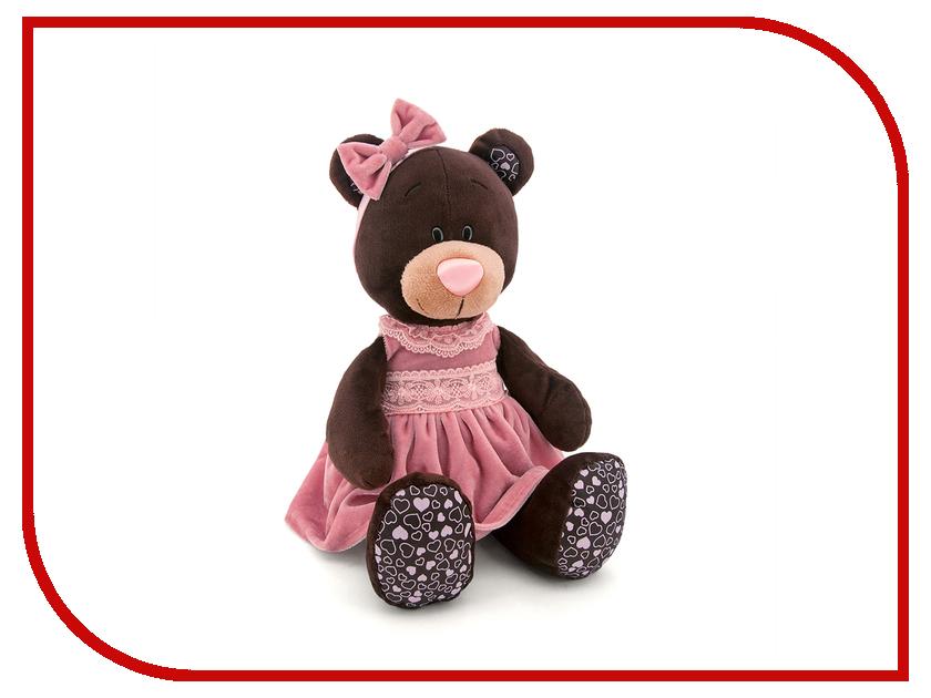Игрушка Orange Toys Milk Медведь в розовом бархатном платье 25cm M5043/25