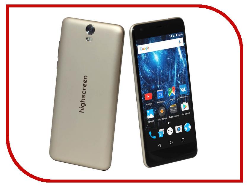 Сотовый телефон Highscreen Easy XL Gold<br>