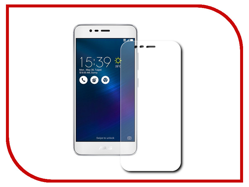 Аксессуар Защитное стекло ASUS Zenfone 3 Max ZC520TL BoraSCO 0.26mm asus zenfone zoom zx551ml 128gb 2016 black