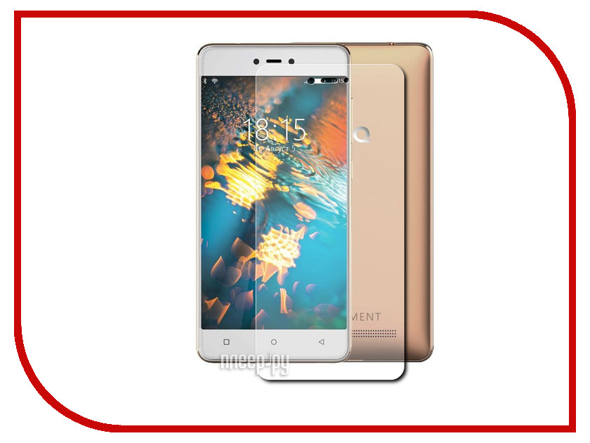Аксессуар Защитная пленка BQ BQS-5032 Element LuxCase прозрачная на весь экран 88455