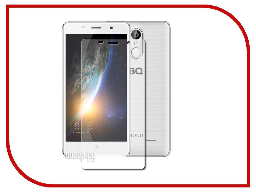Аксессуар Защитная пленка BQ BQS-5022 Bond LuxCase прозрачная на весь экран 88457