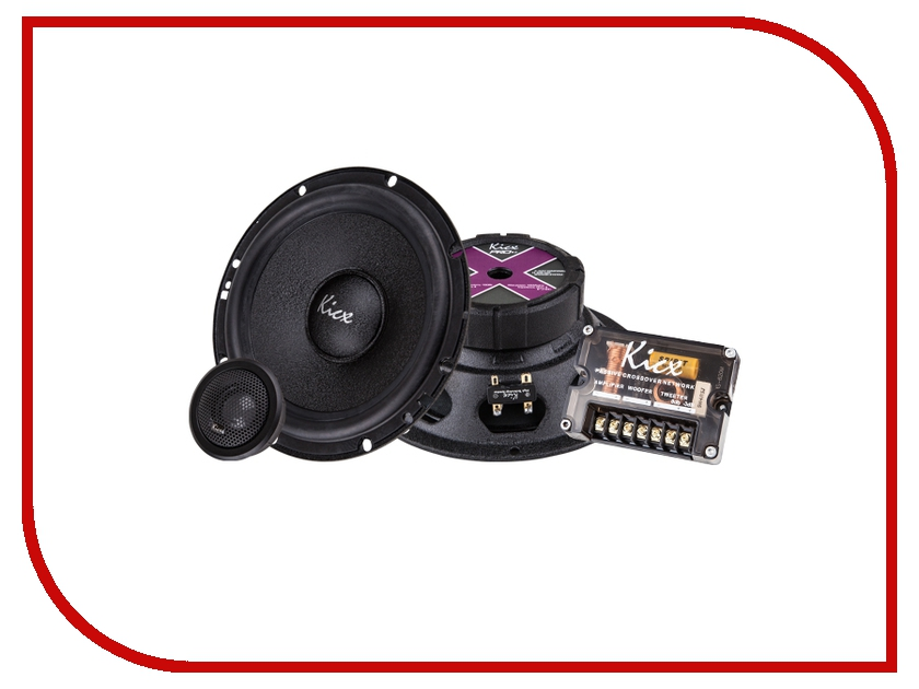 Автоакустика Kicx PRO 6.2 автоакустика kicx stc 502