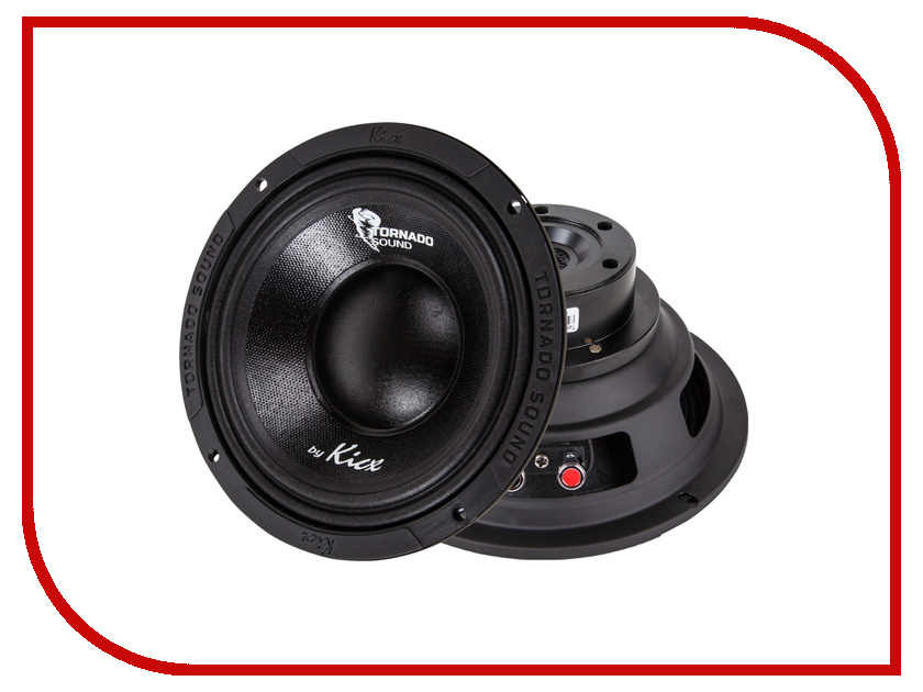Автоакустика Kicx Tornado Sound 6.5BP автоакустика kicx stc 502