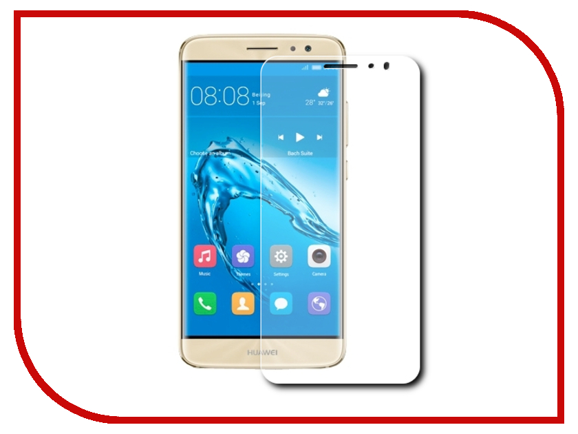 Аксессуар Защитная пленка Huawei Nova 5 Red Line глянцевая