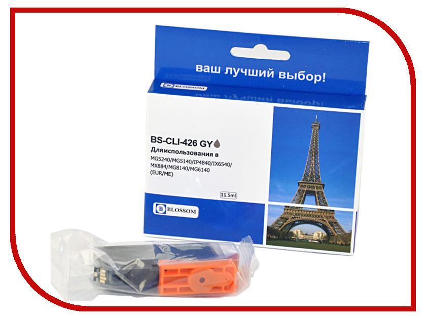 Картридж Blossom BS-CLI-426GY Grey для Canon MG8140/MG6140 картридж colouring cg cli 426bk black для canon ip4840 mg5140 mg5240 mg6140 mg8140