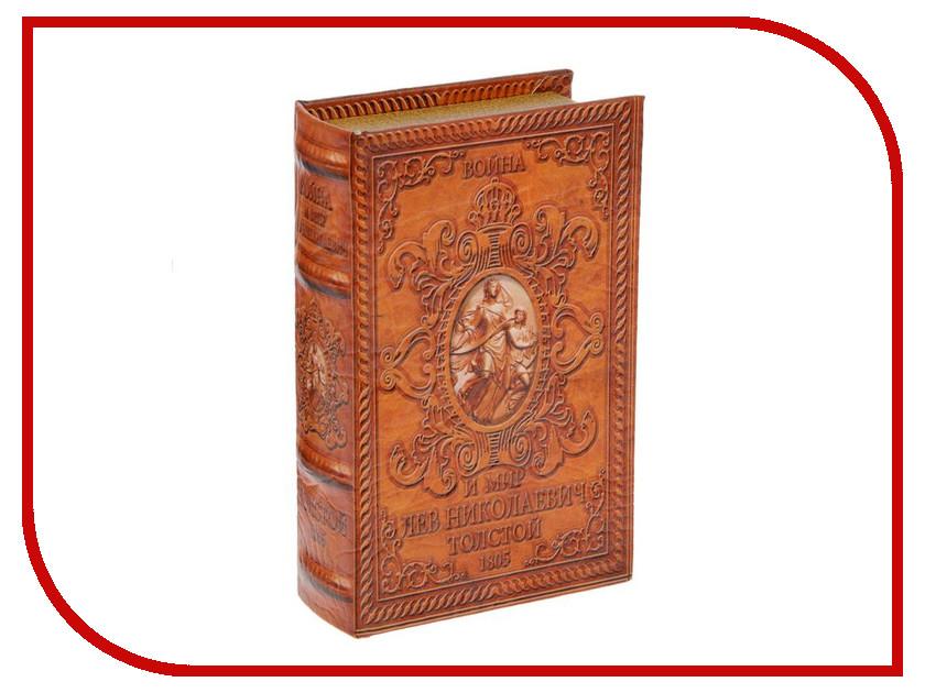 Шкатулка СИМА-ЛЕНД Сейф-книга Война и мир 1522108 от Pleer