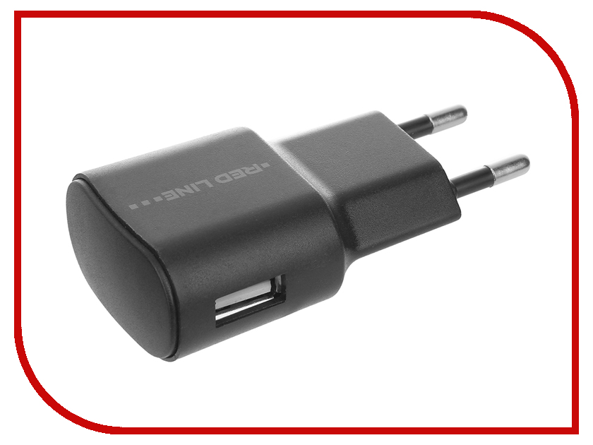 Зарядное устройство Red Line Lite USB 1A TC- Black УТ000010347