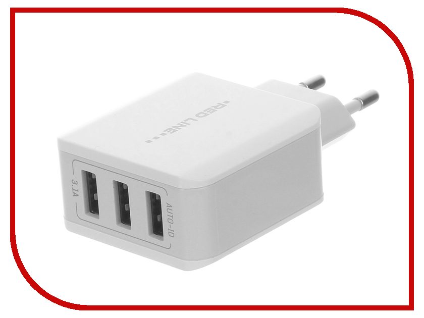 Фото - Зарядное устройство Red Line Superior 3 USB Y3 3.1A Fast Charger White УТ000010355 зарядное устройство red line superior 3 usb y3 3 1a fast charger white ут000010355