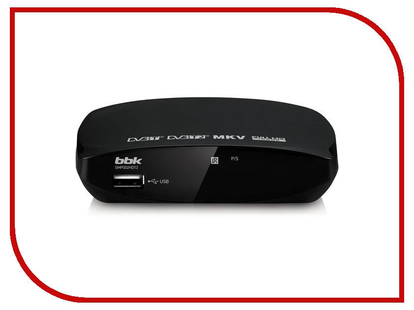 BBK SMP002HDT2 Black тюнер bbk smp017hdt2