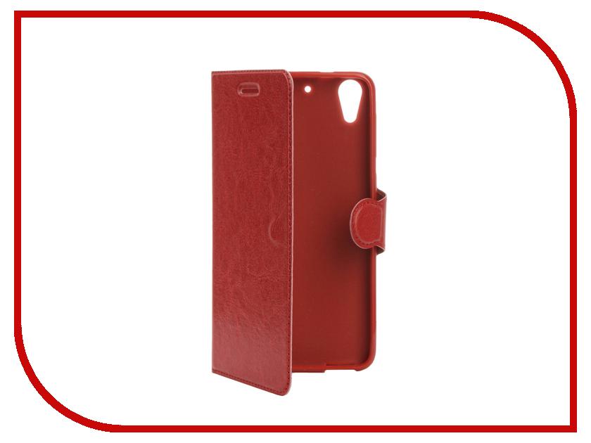 Аксессуар Чехол HTC Desire 728 Red Line Book Type Red аксессуар чехол htc u ultra brosco black htc uu book black