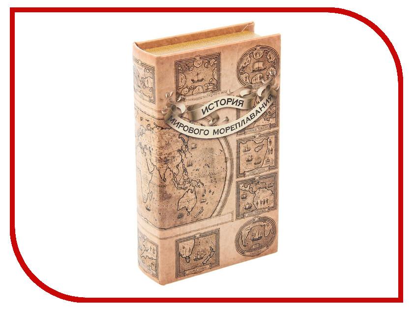 Гаджет СИМА-ЛЕНД Сейф-шкатулка История мирового мореплавания 1202434<br>
