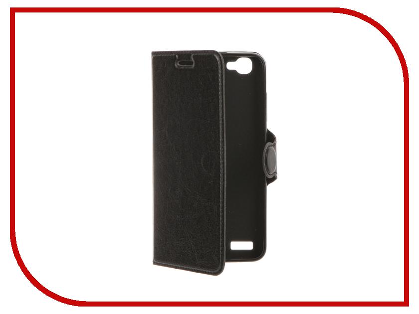 Аксессуар Чехол Huawei GR3 Red Line Book Type Black<br>