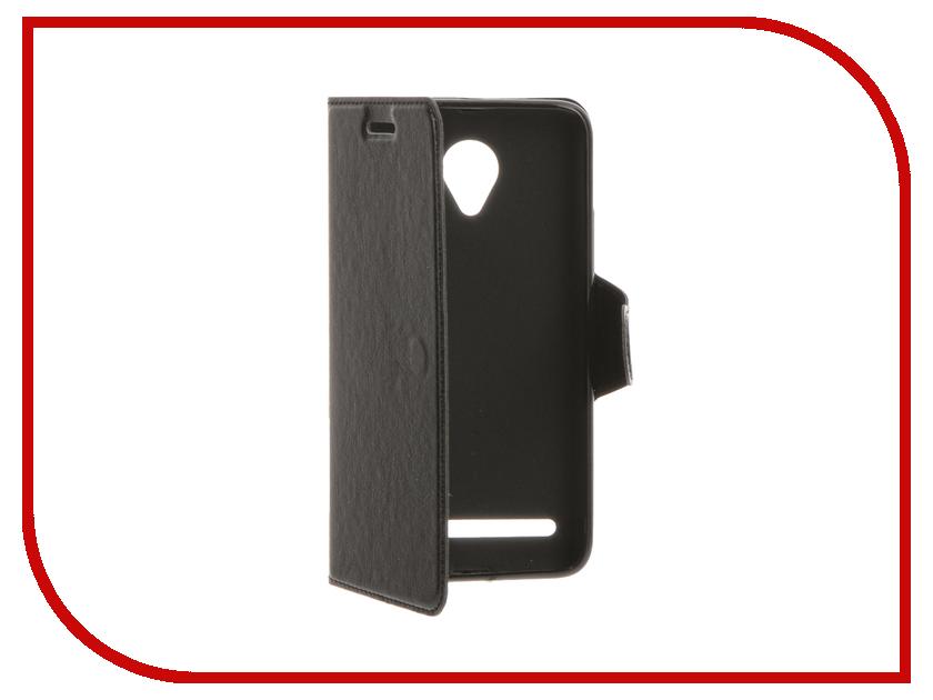 Аксессуар Чехол Lenovo Vibe C2 Red Line Book Type Black<br>