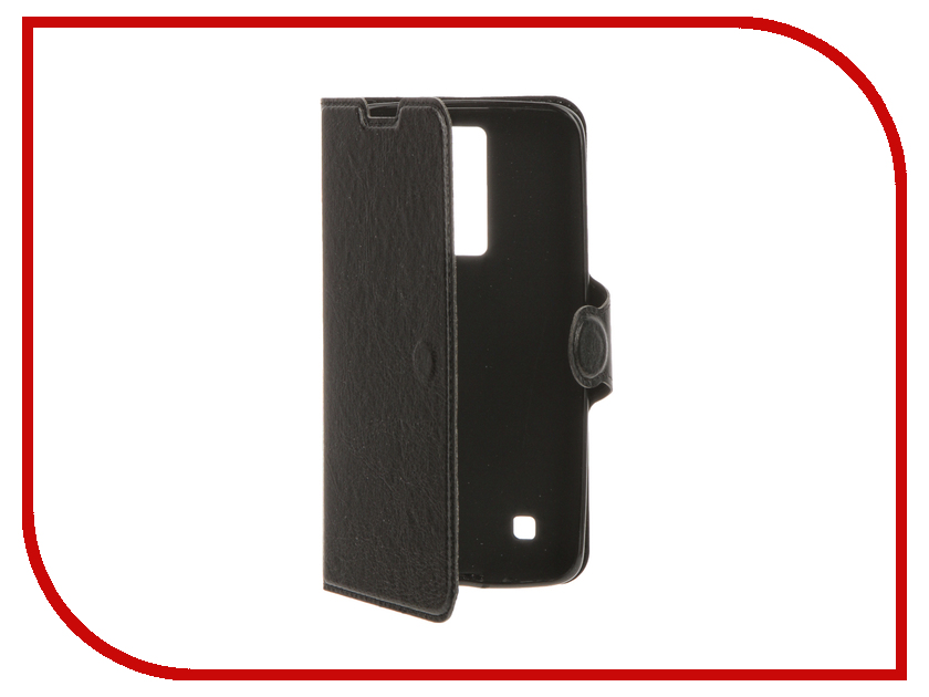 Аксессуар Чехол LG K8 Red Line Book Type Black