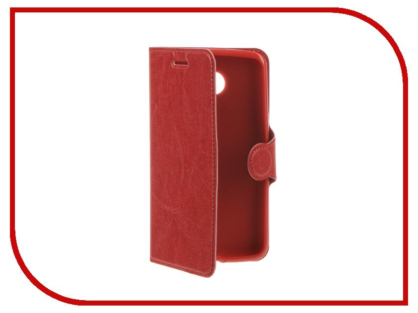 Аксессуар Чехол LG K5 Red Line Book Type Red<br>