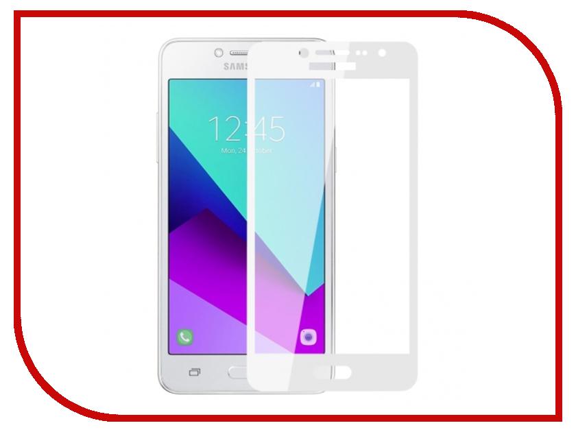 Аксессуар Защитное стекло Samsung SM-G532F/DS Galaxy J2 Prime Zibelino TG Full Screen White 0.33mm 2.5D ZTG-FS-SAM-J2-RM-WHT защитное стекло для samsung galaxy j2 prime sm g532f gecko на весь экран с белой рамкой