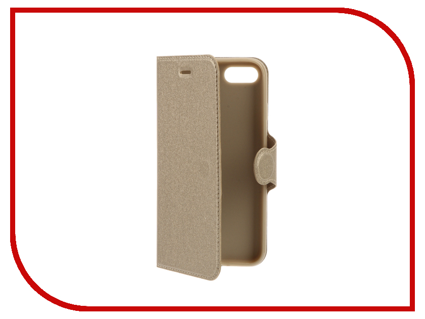 Аксессуар Чехол Red Line Book Type для APPLE iPhone 7 Gold аксессуар чехол huawei y3ii red line book type gold