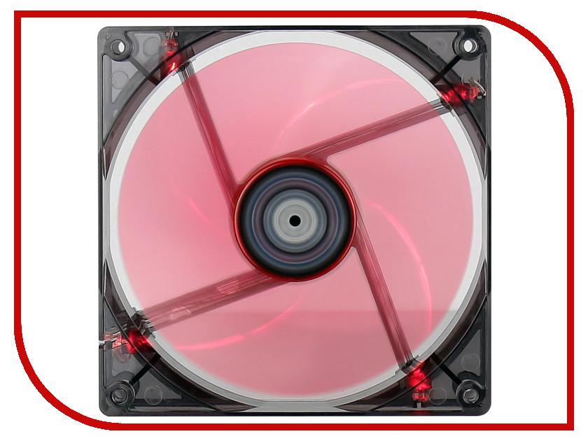 Вентилятор AeroCool Lightning 140mm Red Edition