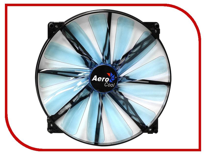 Вентилятор AeroCool Lightning 200mm Blue Edition