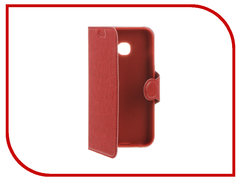 Аксессуар Чехол Samsung Galaxy A3 2017 Red Line Book Type Red аксессуар чехол samsung galaxy a3 2017 red line book type black ут000010236