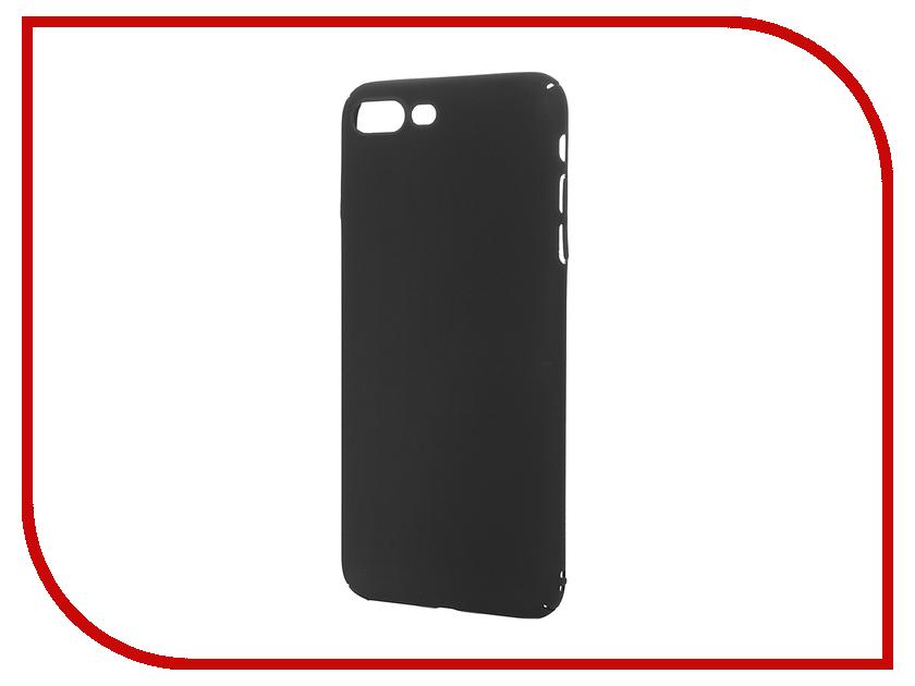 Аксессуар Чехол iBox Fresh для APPLE iPhone 7 Plus Black чехол клип кейс redline ibox fresh для apple iphone 7 plus синий [ут000010072]