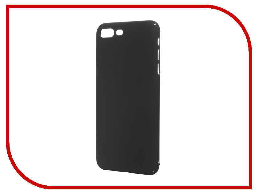 все цены на Аксессуар Чехол iBox Fresh для APPLE iPhone 7 Plus Black онлайн
