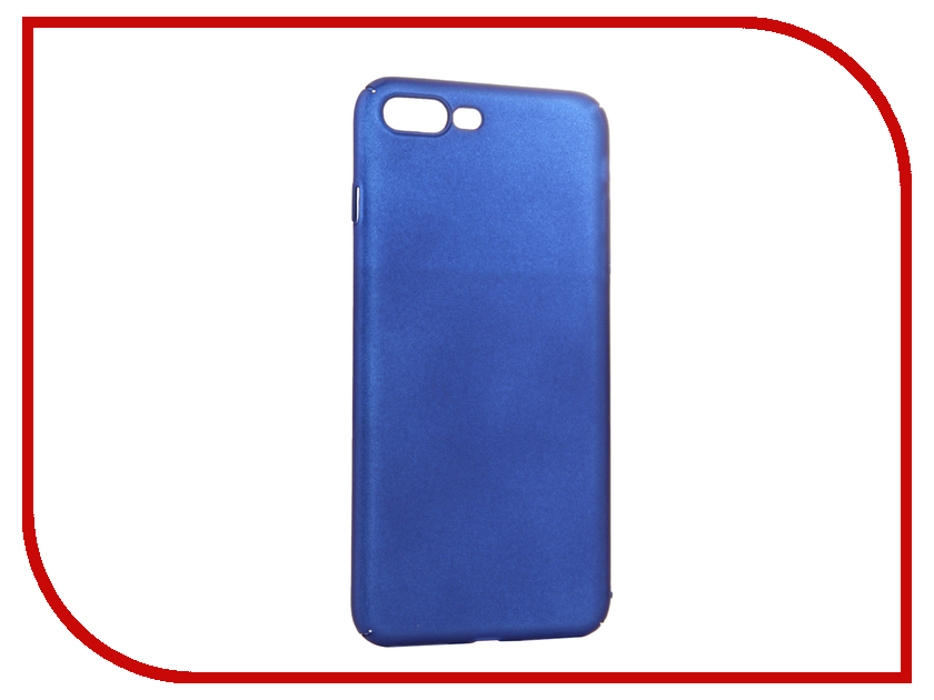 Аксессуар Чехол iBox Fresh для APPLE iPhone 7 Plus Blue<br>
