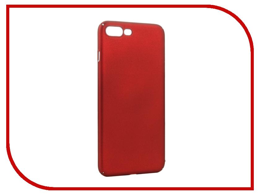 Аксессуар Чехол iBox Fresh для APPLE iPhone 7 Plus Red аксессуар чехол ibox element для apple iphone 7 plus red gold frame