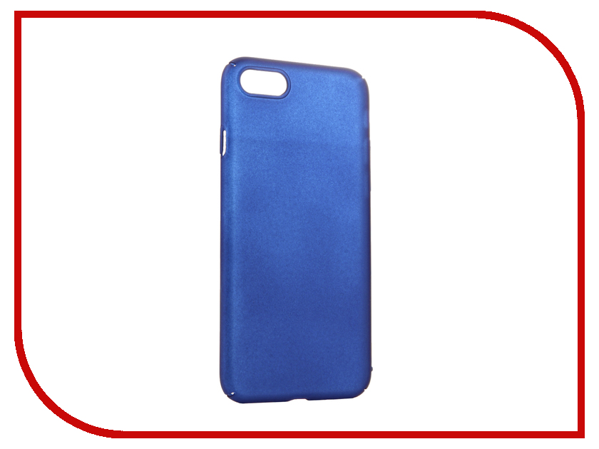 Аксессуар Чехол iBox Fresh для APPLE iPhone 7 Blue ibox premium для explay fresh
