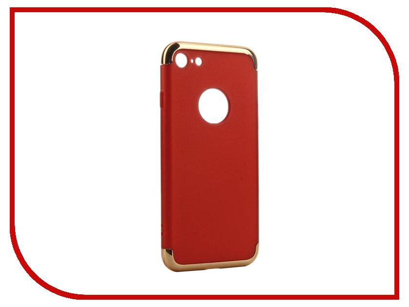 Аксессуар Чехол iBox Element для APPLE iPhone 7 Red-Gold frame