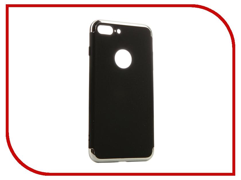 Аксессуар Чехол iBox Element для APPLE iPhone 7 Plus Black-Silver frame<br>