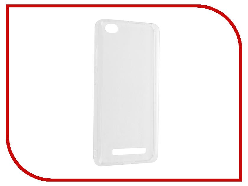 Аксессуар Чехол Xiaomi Redmi 4A iBox Crystal Transparent аксессуар чехол xiaomi redmi 3 3 pro ibox crystal grey