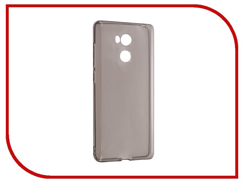 Аксессуар Чехол Xiaomi Redmi 4 Pro iBox Crystal Grey<br>
