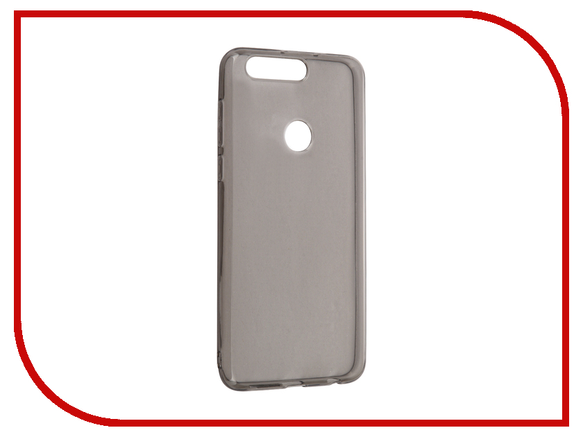 Аксессуар Чехол Huawei Honor 8 iBox Crystal Grey сотовый телефон huawei honor 8 pro black