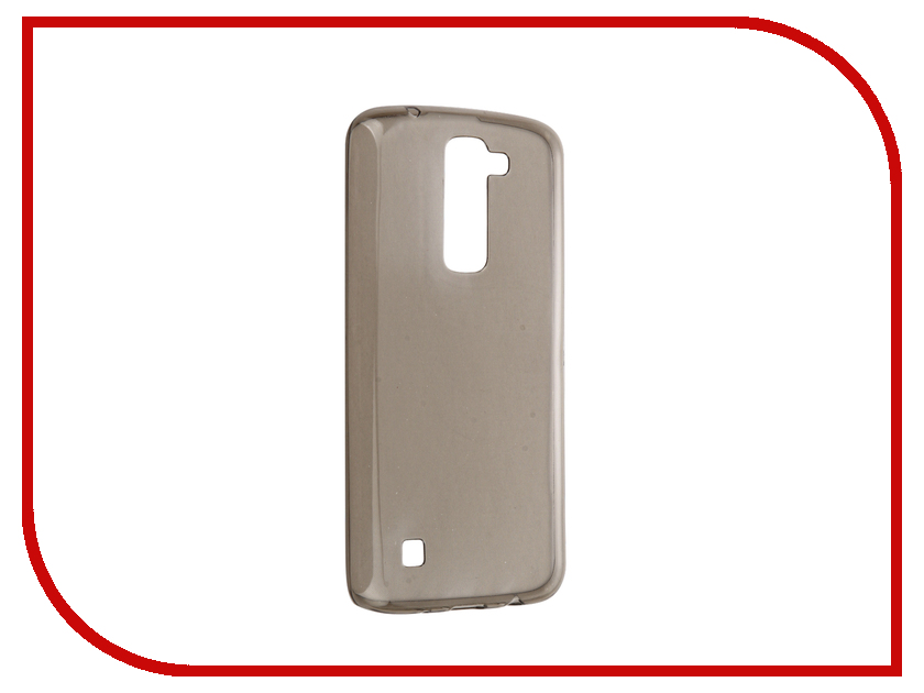 Аксессуар Чехол LG K8 iBox Crystal Grey<br>