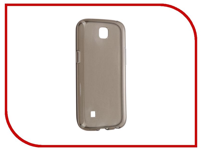 Аксессуар Чехол LG K3 iBox Crystal Grey