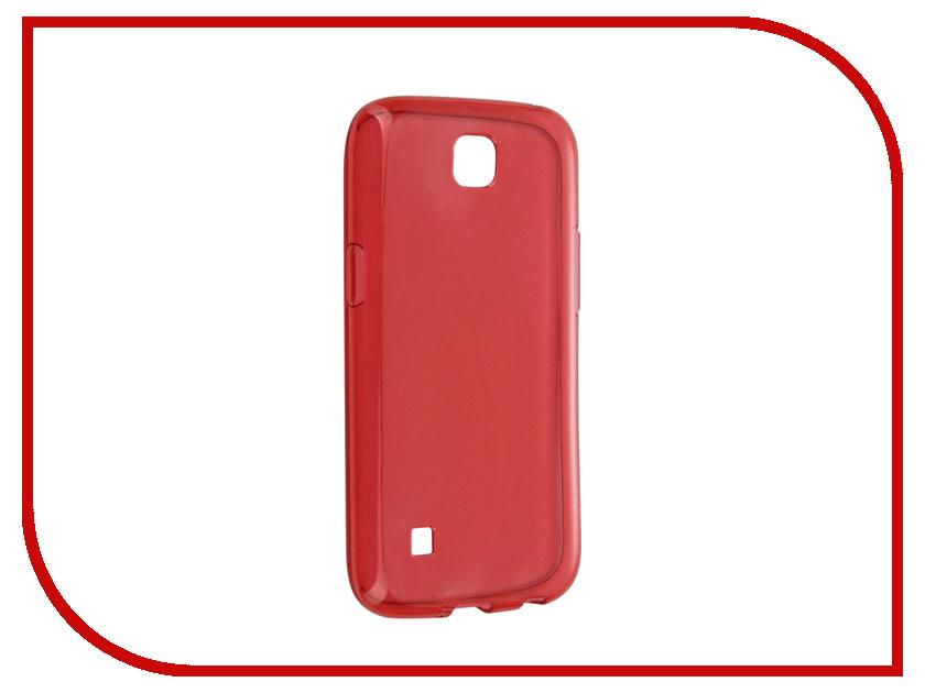 Аксессуар Чехол LG K3 iBox Crystal Red<br>