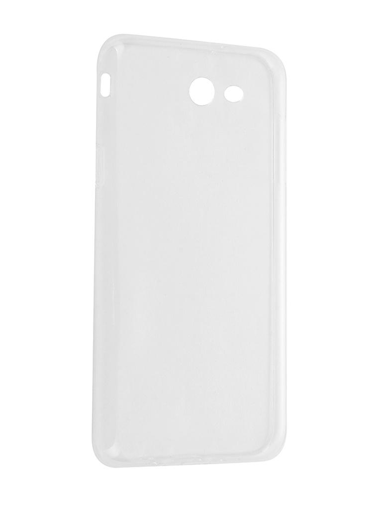 Аксессуар Чехол iBox Crystal для Samsung Galaxy J7 2017 Transparent аксессуар чехол для samsung galaxy j7 j730 2017 gecko transparent glossy white s g sgj7 2017 wh
