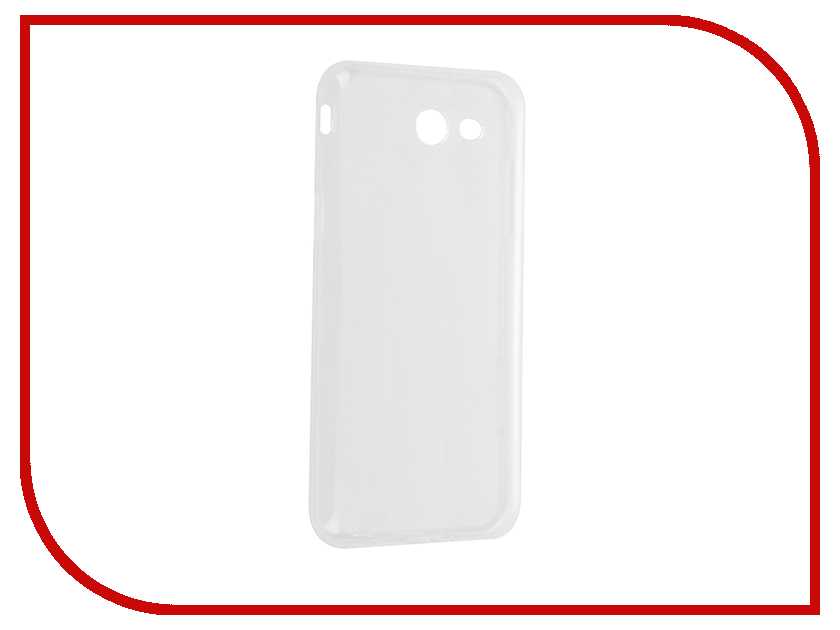 Аксессуар Чехол Samsung Galaxy J3 2017 iBox Crystal Transparent аксессуар чехол samsung galaxy a3 2017 cojess tpu 0 3mm transparent