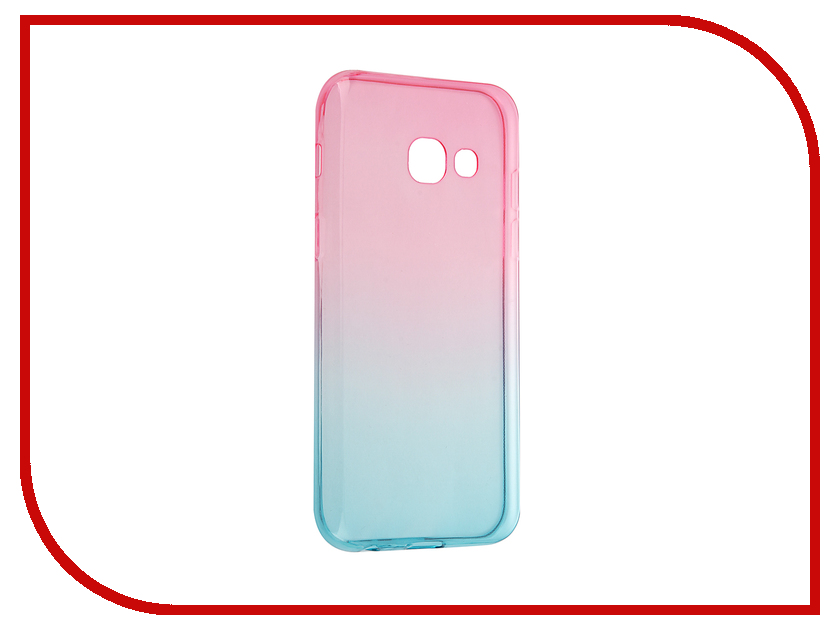 Аксессуар Чехол для Samsung Galaxy A3 2017 iBox Crystal gradient аксессуар чехол для samsung galaxy a5 2017 ibox crystal transparent
