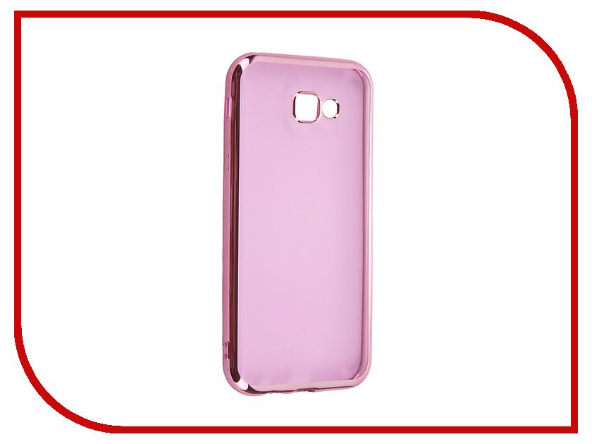Аксессуар Чехол Samsung Galaxy A7 2017 iBox Blaze Pink frame<br>