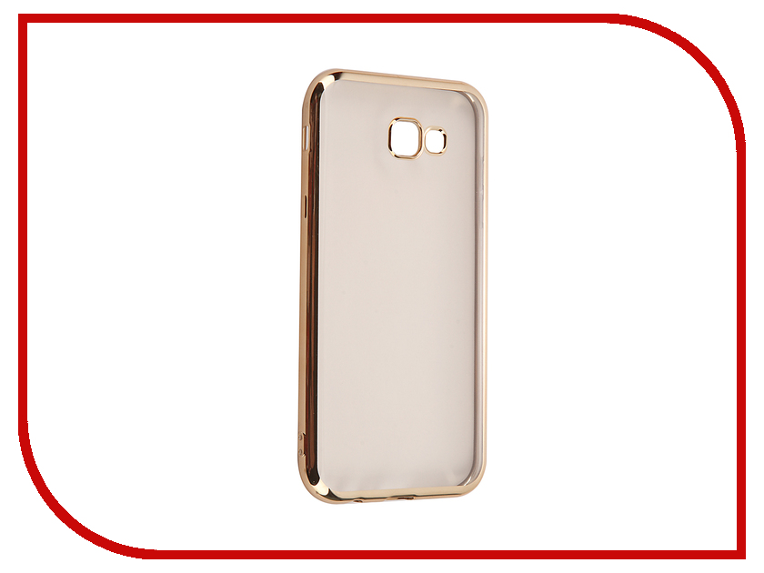 Аксессуар Чехол для Samsung Galaxy A7 2017 iBox Blaze Gold frame red line ibox blaze чехол для samsung galaxy a7 2016 gold