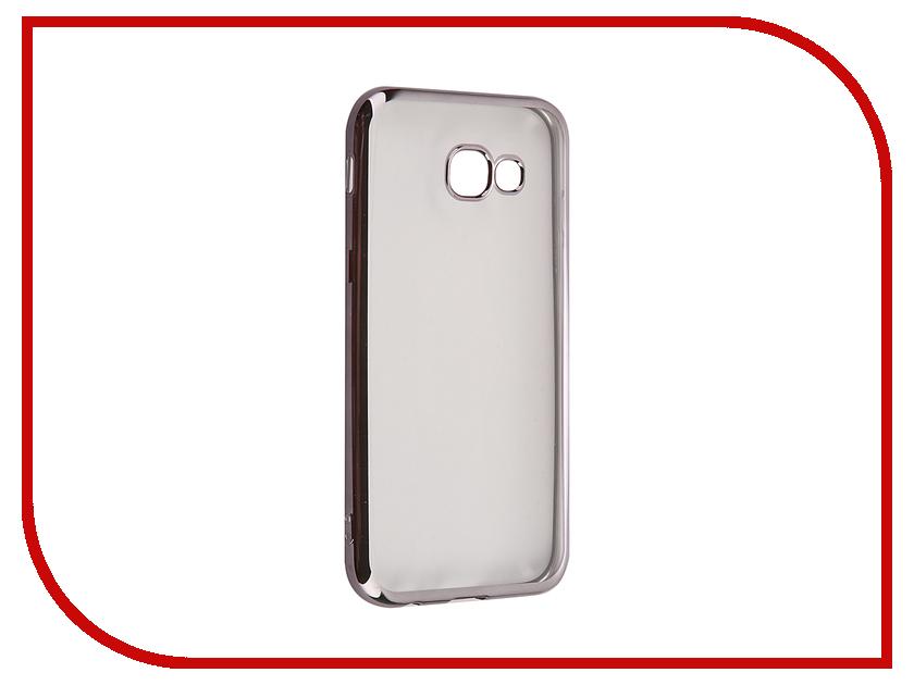 Аксессуар Чехол для Samsung Galaxy A5 2017 iBox Blaze Black frame аксессуар чехол накладка samsung galaxy a5 ibox crystal grey