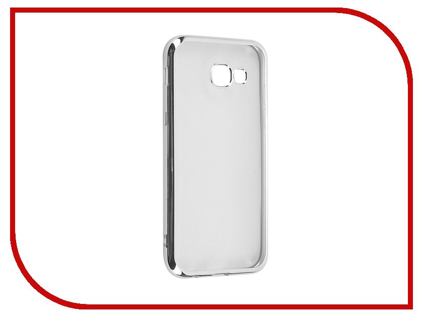Аксессуар Чехол Samsung Galaxy A5 2017 iBox Blaze Silver frame